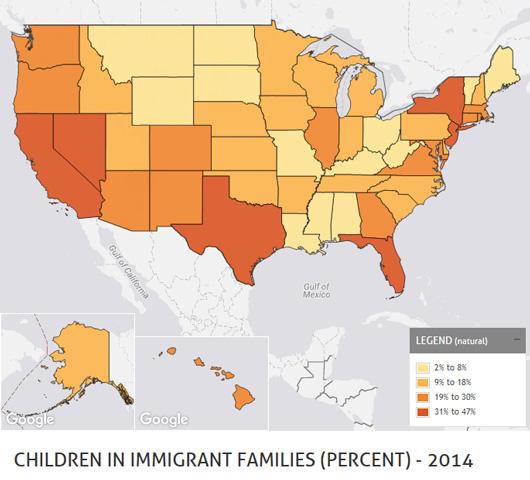 Children in immigrant families